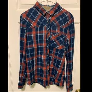 Bershka Flannel Shirt